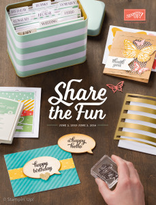Annual 2015-16 Share the Fun Idea Book & Catalog
