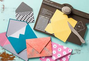 envelope making with cardstock or designer series paper