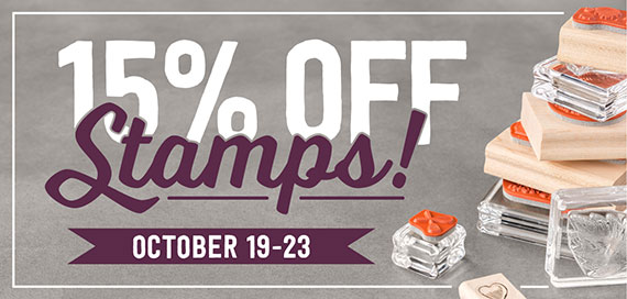 15 % Savings on Stamps