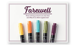 farewell incolors