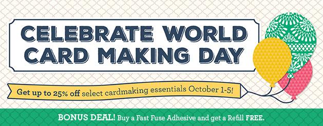 Celebrate World Card Making Day!