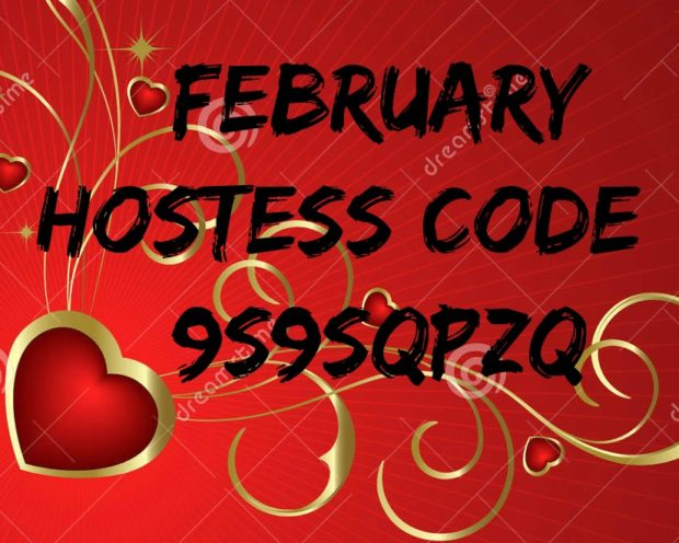 February Hostess Code 9S9SQPZQ